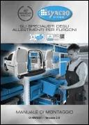 Istruzioni di montaggio del sistema di allestimento furgoni Syncro System